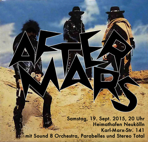 aftermars at heimathafen with Stereo Total